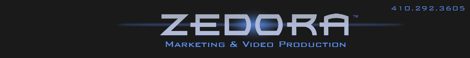 ZEDORA™ | Video Production Baltimore  DC