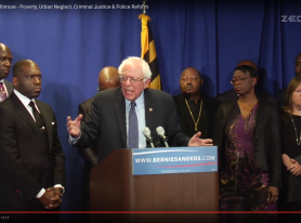 Bernie Sanders – Baltimore Press Conference